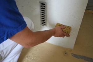 Lessivage des murs et plafonds